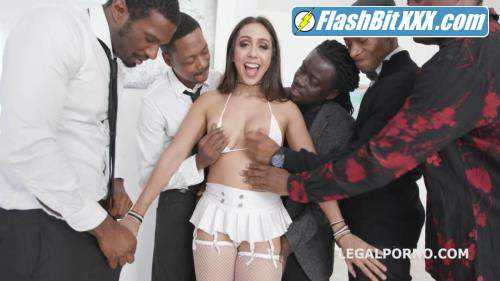 Lilly Hall, Yves Morgan, Dylan Brown, Freddy Gong, Mr. Longwood - Waka Waka Blacks are Coming, Lilly Hall gets 5 BBC, balls deep anal, DP, DAP, Gapes, Creampie & Swallow GIO771 [HD 720p]