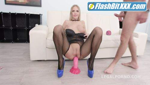 Florane Russell, Thomas Lee, Angelo, Michael Fly, Rycky Optimal - Total DAP destruction with Florane Russell, Balls Deep Anal DAP, Gapes, Swallow GIO989 [SD 480p]