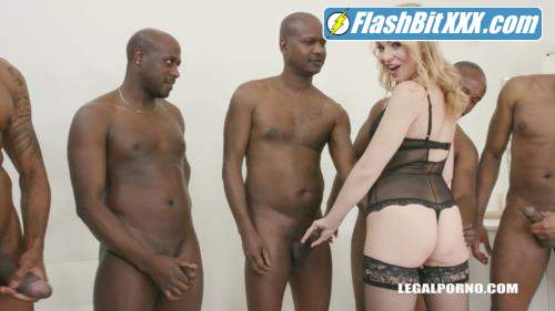 Rebecca Sharon, Joachim Kessef, Darnell Black, Chikito - Rebecca Sharon goes balls deep double anal with 8 black guys IV288 [HD 720p]
