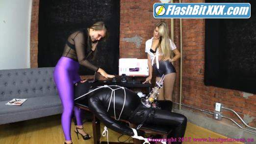 Chloe, Natalya - Cow Let Out Of Milking Machine Facesat And Teased [FullHD 1080p]