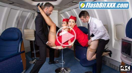 Alexis Crystal, Misha Cross - Horny Flight On Dorcel Airline [UltraHD 4K 2160p]