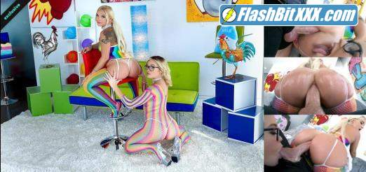 Bella Jane, Katie Kush - Juicy Anal Affair With Bella And Katie [FullHD 1080p]
