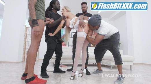 Florane Russell, Yves Morgan, Dylan Brown, Freddy Gong - Waka Waka, Blacks are coming Florane Russell gets 4 BBC Balls Deep Anal, Gapes, DAP, Facial GIO1204 [FullHD 1080p]