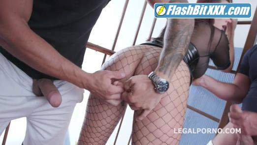 Jolee Love, Neeo, Mr. Anderson, Angelo Godshack, Tomas, Brian Ragnastone, Rycky Optimal - Jolee Love 10on1 DAP Gangband with Balls Deep Anal, Gapes, DAP and Swallow GIO1155 [SD 480p]