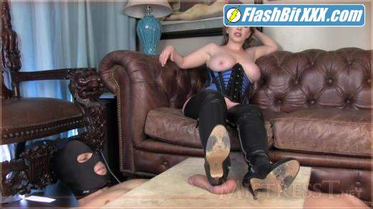 Mistress T - Ballbusting punishment from MILF [HD 720p]