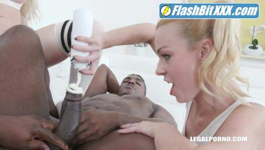 Isabella Clark, Rebecca Sharon, Joachim Kessef, Black Prince - Isabella Clark Rebecca Sharon play kinky cream games Part 2 IV376 [SD 480p]