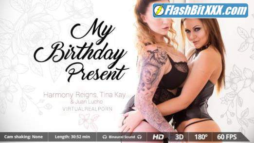 Harmony Reigns, Tina Kay - My birthday present [UltraHD 2K 1600p]