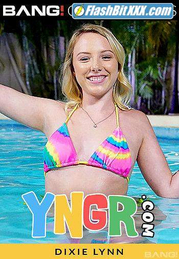 Yngr: Dixie Lynn - Dixie Lynn Gets Her Pussy Destroyed By The Pool [SD 540p]