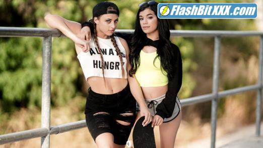 Gia Derza, Savannah Sixx - The Skater Girl [FullHD 1080p]