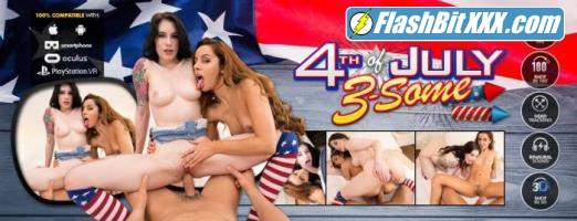 Vanna Bardot, Anna De Ville - 4th of July Threesome [UltraHD 4K 2700p]