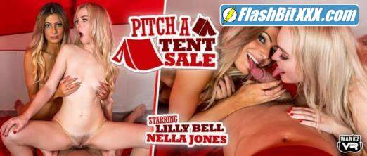 Lilly Bell, Nella Jones - Pitch a Tent Sale [UltraHD 2K 1920p]