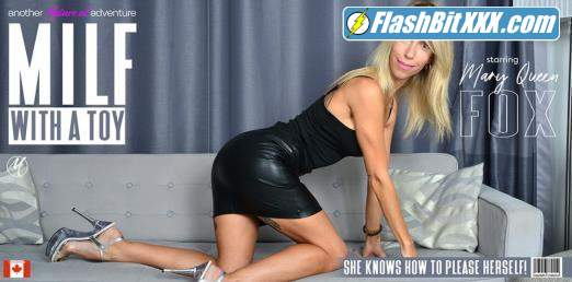 Mary-Queen Fox (37) - Hot MILF Mary - Queen Fox loves playing with her toy [FullHD 1080p]