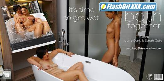 Jane Dark (43), Sarah Cute (21) - Hot babe Sarah Cute shares the bath with mature lesbian Jane Dark [FullHD 1080p]