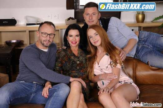 Kaisa Nord, Veronica Avluv - Our Family Rules: First Cum, First Served [UltraHD 2K 1920p]