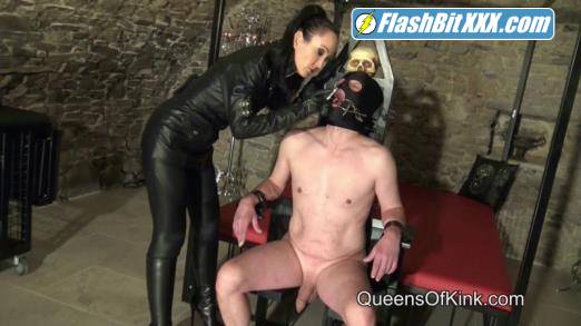 Fetish Liza - Bound Ashtray Slave [HD 720p]