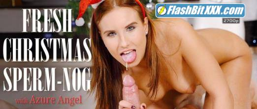 Azure Angel - Fresh Christmas sperm-nog [UltraHD 4K 2700p]