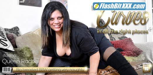 Queen Rachel (EU) (48) - Curvy mature lady with big tits loves to play with her wet pussy [FullHD 1080p]