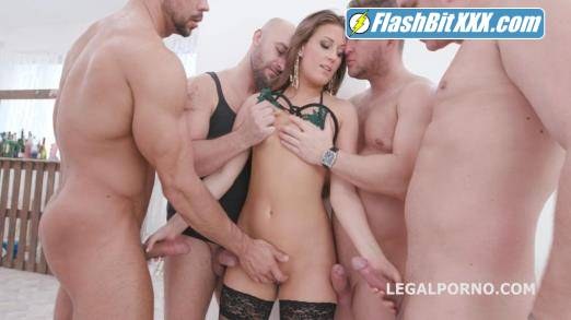 Febby Twigs, Neeo, Mr. Anderson, Thomas Lee, Angelo Godshack - DAP Destination Febby Twigs First Time DAP with Balls Deep Anal, No Pussy, She likes it and swallows GIO1369 [FullHD 1080p]