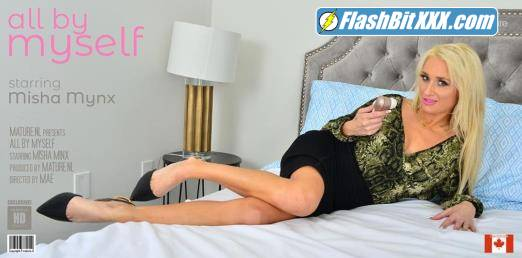 Misha Mynx (35) - Hot MILF Misha Mynx discovers the pleasure from her clitsucker toy [FullHD 1080p]