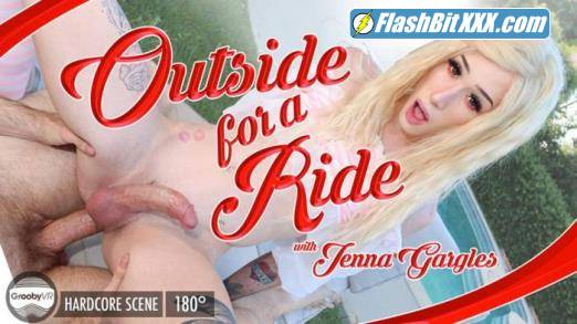 Jenna Gargles - Outside For A Ride! [UltraHD 2K 1920p]