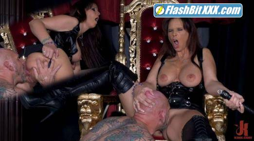 Syren de Mer, Rick Stronghold - Yes My Queen: Syren De Mer Dominates Her Daddy For The First Time! [FullHD 1080p]