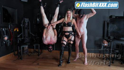 Mistress Nikki Whiplash - Ballbusting Training Day (BB1464) [FullHD 1080p]