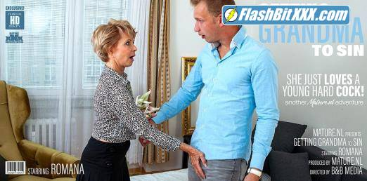 Romana (69) - Granny wants a younger cock to suck and fuck! [FullHD 1080p]